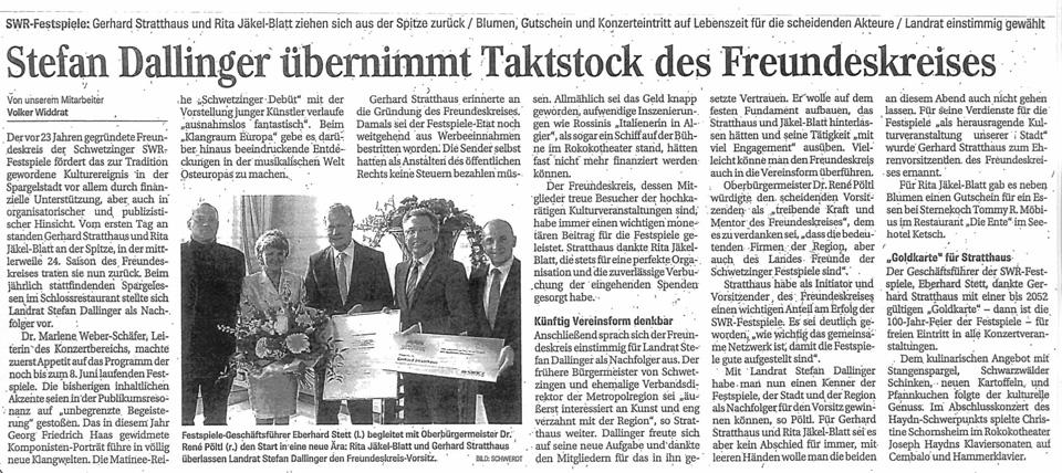 Schwetzinger Zeitung vom 14.05.2013